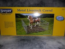 Breyer New * Livestock Corral * 2059 Metal Fence Traditional Model Horses Bulls