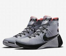 NIKE HYPERDUNK 2015 LMTD 'PARIS' Trainers Grey Black Multi Size UK 10.5 EU 45.5