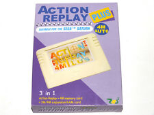 Action replay plus 4M Sega Saturn Nuevo New RAM