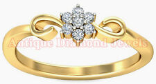 THANKSGIVING DAY SALE 0.71ct JK/SI ROUND,DIAMOND YELLOW GOLD ANNIVERSARY RING