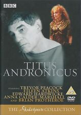 TITUS ANDRONICUS - Complete BBC Drama. 1985. Trevor Peacock, Eileen Atkins (DVD)