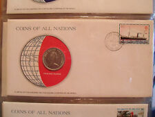 Coins of All Nations Falkland Islands 10 pence 1980 UNC