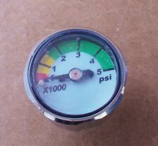Brownie's Third Lung 5000 psi Scuba Regulator Port Gauge, Scuba, Hookah,