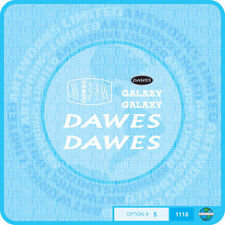 Dawes Galaxy Decalcomanie Biciclette Trasferimenti-Bianco-Set 5