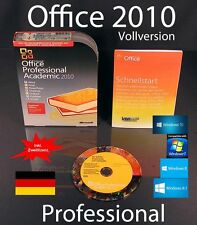 Microsoft Office Professional 2010 Vollversion Box EDU Zweitinstallation OVP NEU