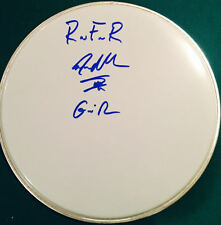 Steven Adler Signed Autographed Guns N Roses Inscribed White Drumhead