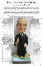 Green Bag Justice Kennedy Bobblehead -- new in box