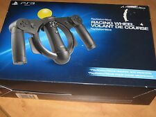 Racing Steering Wheel PlayStation PS3 Move - New in Open Box (Sealed Inside)