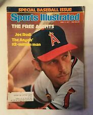 Sports Illustrated Magazine - April 11, 1977 - Special Baseball Issue - Joe Rudi