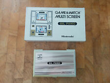 OIL PANIC!! OP-51 NINTENDO 1982 GAME & WATCH