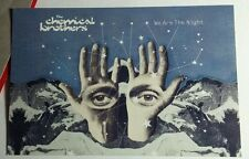 THE CHEMICAL BROTHERS WE ARE THE NIGHT AD PROMO MUSIC 4X6 POSTCARD SM POSTER