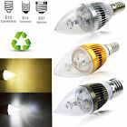 Dimmable E12 (Candelabra) E14 E27 6W 8W 10W High Power LED Chandelier Light Bulb