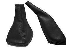 SEAT IBIZA Modello 1993 - 1999 Cuffia Leva Cambio e Freno 100% Pelle Colore Nero