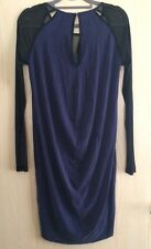 Y.A.S Drape Back Tunic Dress With Cut-away Neck UK 10 (RRP £70)