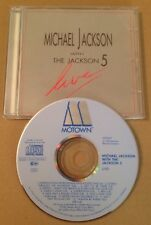 Michael Jackson With The Jackson 5 -  Live 12 Trk Cd Album Mega Rare 1988 Motown
