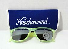 KNOCKAROUND Classic Premiums Sunglasses Citrus Frame Smoke Lens