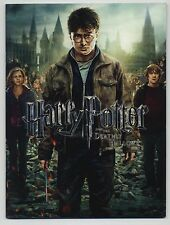 Harry Potter & the Deathly Hallows Pt. 2 JAPAN PROGRAM David Yates, Rupert Grint
