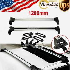 Universal Kayak Snowboard Cross Bars Roof Rack Carrier Anti-theft Fit Ford/Audi