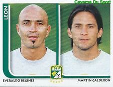 293 BEGINES / MARTIN CALDERON CF.LEON MEXICO STICKER SUPERFUTBOL 2009 PANINI