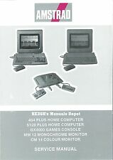 AMSTRAD 464 6128 GX4000 MM12 CM14 Service Manual * CDROM * PDF