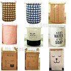 Hot Style Large Storage Laundry Hamper Basket Bucket Bin For Kids Toy Clothes
