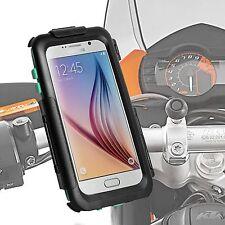 Motorrad Hardcase Samsung Galaxy S6 S6 edge Halter Schnellspanner 360° drehbar