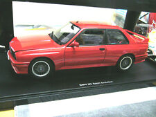 BMW m3 serie 3er e30 Sport Evolution Red Rosso 1990 Autoart AA NEW NUOVO 1:18