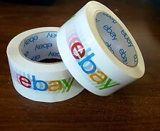 2 rolls Official eBay Branded BOPP Packaging Scotch Tape -shipping supplies sale