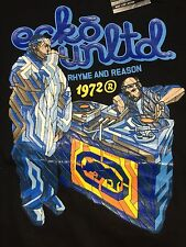 NOS 90's Marc Ecko Unltd. Tee Shirt - Ones And Two - Rhyme And Reason - Men's L