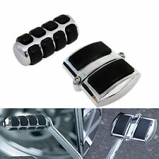 Chrome Gear Shift Rear Brake Pedal Cover for Yamaha V-Star XVS 650 950 1100 1300