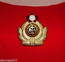 Authentic Soviet USSR Military Marine Navy Naval Force Hat Badge Cockarde