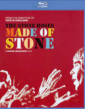 THE STONE ROSES Made of Stone blu-ray w/ extras Shane Meadows film SEALED