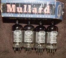 MULLARD NOS QUAD M8195 = CV4085 / EF86S / EF86 / 6267 GT BRITAIN TUBES NEW 1958