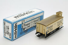 MARKLIN HO - WAGON MARCHANDISES 4781  - MADE WESTERN IN GERMANY - VINTAGE TOY