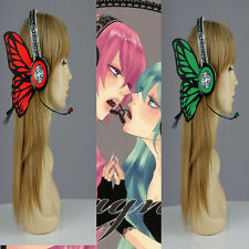 Vocaloid headphones butterfly magnet Miku Ruka MG cosplay earphone work actually