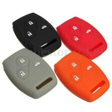 Colored Silicone Remote Key Protect Case Cover Rubber Fob For Honda Accord Civic