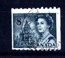 CANADA - 1971 - Biblioteca del Parlamento, Ottawa; Regina Elisabetta II