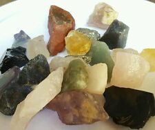1Lb Crafters Mix Lots Gems Crystals Natural Mineral Specimens
