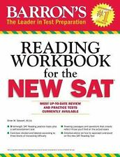 NEW - Barron's Reading Workbook for the NEW SAT by Brian Stewart