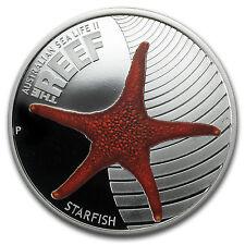 2011 1/2 oz Proof Silver Sea Life II Series - Starfish