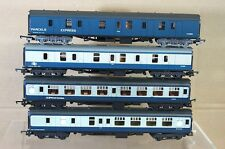 LIMA HORNBY BR BLUE GREY NETWORK SOUTHEAST MK1 2nd BRAKE & PARCEL COACH x4 na