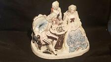 ANTIQUE GERMAN PORCELAIN CONTA BOEHME FIGURAL GROUP INKSTAND TOP