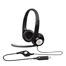Logitech ClearChat Comfort/USB Headset H390 (Black)