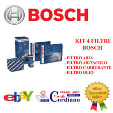 KIT TAGLIANDO + CANDELE NGK FIAT MULTIPLA 1.6 16V BIPOWER 103CV NATURAL POWER
