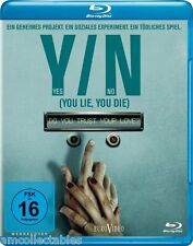 BLU-RAY - Y/N YES/NO - YOU LIE, YOU DIE - NEU/OVP