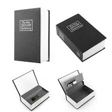 Novelty Book Shaped Money Locked Storage Box Coin Bank Piggy Bank with 2 Keys