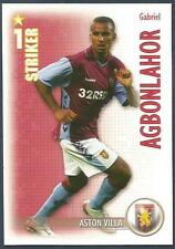 SHOOT OUT 2006-2007-ASTON VILLA-GABRIEL AGBONLAHOR
