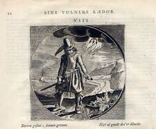 Emblemata-Kupferstich aus Cats Alle de Werken 1650