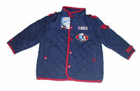 BOYS COAT JACKET THOMAS THE TANK ENGINE QUILTED FLEECE LINED 1-4 YEARS