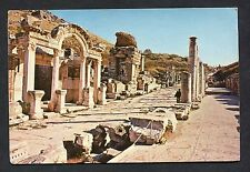 View of the Temple of Hadrianus & Curetine Street. Posted 1987.
